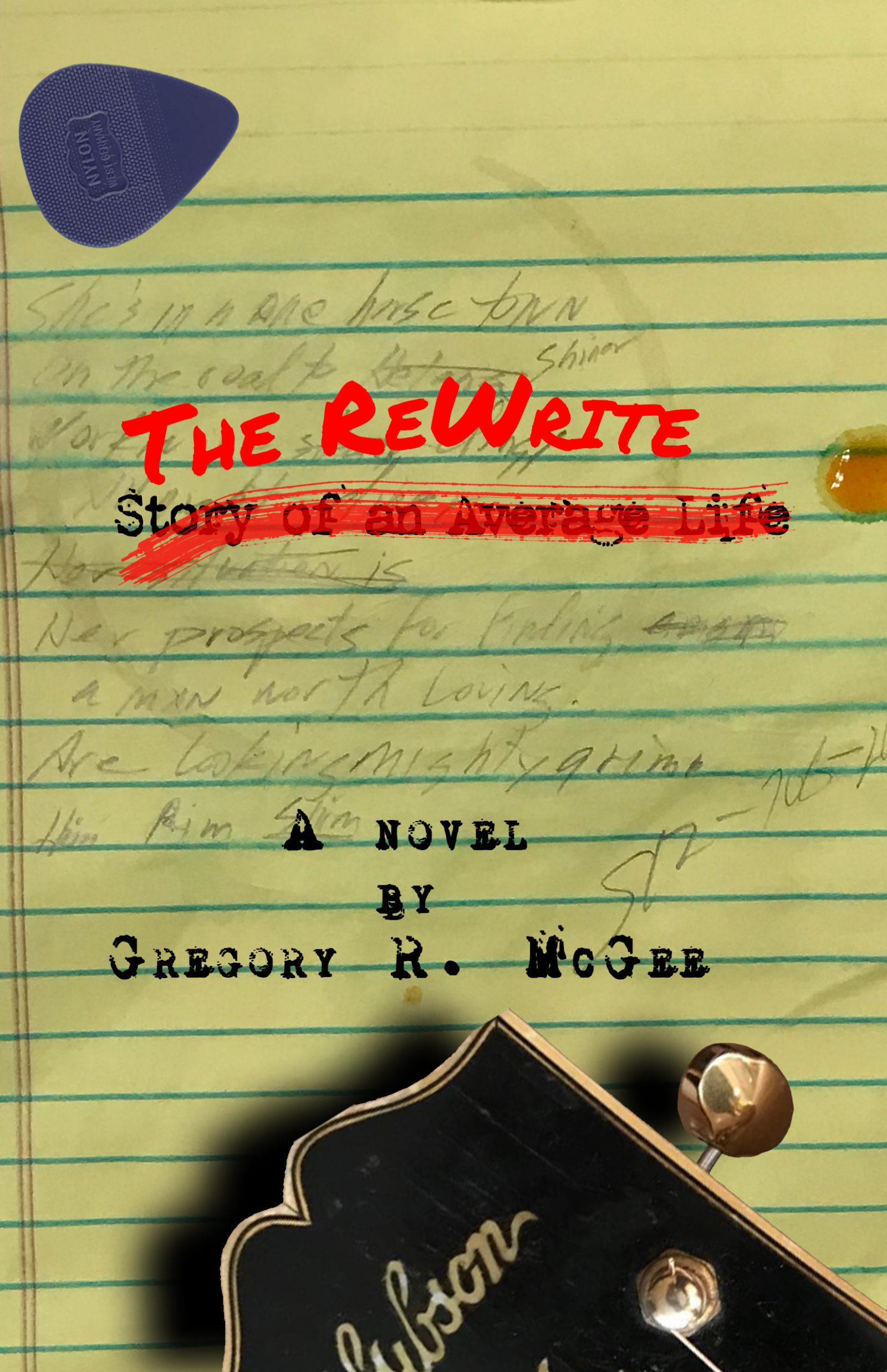 Cover Art for The ReWrite novel